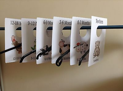 Baby Boy Wardrobe Dividers, Birth, Baby Shower Gift / Present