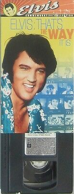 ELVIS PRESLEY the way it is (VHS Video )