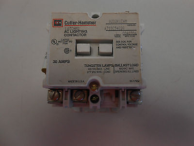 Cutler Hammer Ac Lighting Contactor A202K1Cam With Aux. Contact 30 Amps