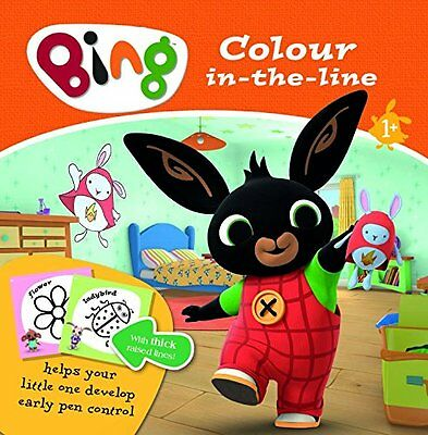 Bing Colour In The Line Book