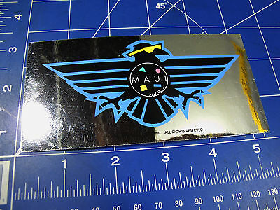 vtg* 1980s Maui and Sons Surf sticker sunglasses eagle