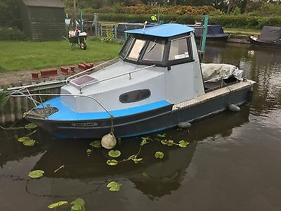 20ft River Sea Weekend or Fishing Boat