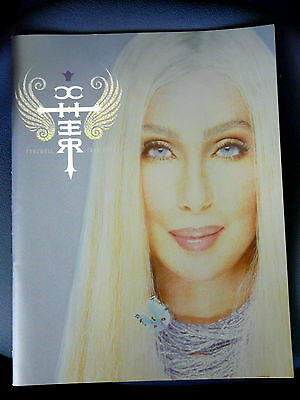 Souvenir Programme from Cher's 2004 Farewell Tour in excellent condition