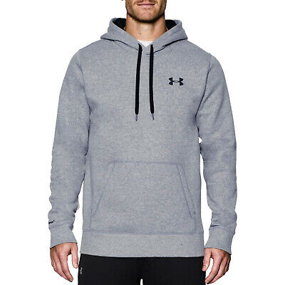 Under Armour Mens Storm Rival Cotton Hoodie -New Ua Pullover Sweatshirt Top 2017