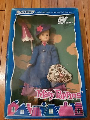 "Authentic Walt Disney "" MARY POPPINS "" Horsman Style #928 NRFB 50 Year Doll"