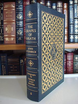 GRAPES OF WRATH by John Steinbeck Easton Press Leather