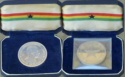 Just Reduced!! 1958 Ghana Proof Silver 10 Shillings Cased Low Mintage