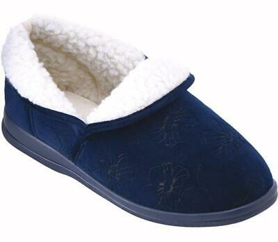 Cosyfeet Extra Roomy Holly Womens Slipper 3 Colours 6E Fitting UK Sizes