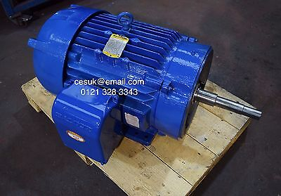 Baldor 18.5kW (25HP) Electric Motor 2900RPM 2-Pole 28 Frame  3-Phase Gusher Pump