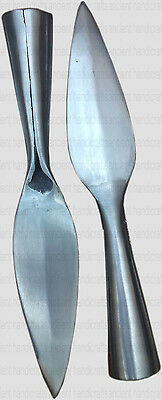 """Spear Head 7 1/2"""" overall high carbon steel spear"""