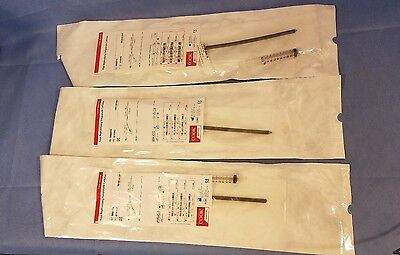 Lot of 3 Cook Medical Kaye Nephrostomy Tamponade Ref 086014 Long Dated