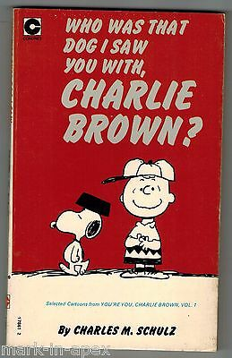 CORONET PEANUTS BOOK - # 36 Who Was That Dog I Saw You With, Charlie Brown (PB)