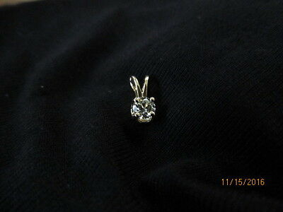 Diamond Pendant Solitaire