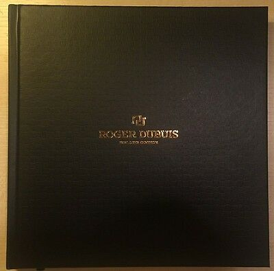 Brand New Sealed 2016 2017 Roger Dubuis Watch Hardback Catalogue Brochure