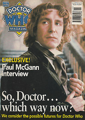 2 Doctor Who monthly-Nos 246 &247 1996 Paul McGann/Sylvester McCoy/Sophie Aldred