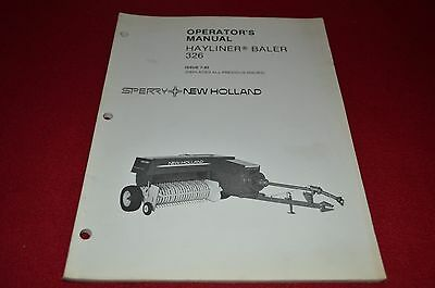 new holland 87 hay baler operator s manual wpnh color 16 19 rh picclick com New Holland 560 Round Baler New Holland Hay Baler