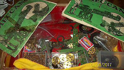 ONE 1947 HORNBY MECCANO SET No 8 100% PARTS COMPLETE, BOXED.