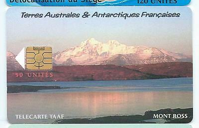 TAAF 30 Le Mont Ross 1500 exemplaires