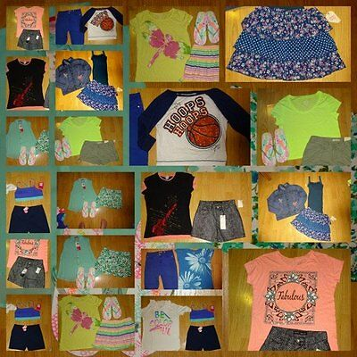 HUGE LOT GIRLS SIZE 14 16  nwt nwot euc shorts tops justice place more qq