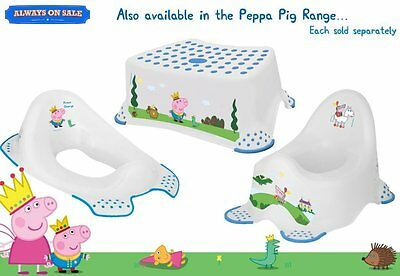 Peppa Pig Toilet Training Seat - Prince George Baby Kids Seat Boys Girls