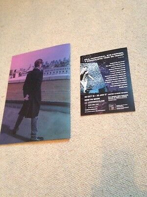 David Bowie  Lazarus Musical Programme London Program and promotional flyer
