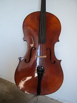 Cello Violoncello Violin Alt old Altes 4/4  Cremona Italian ca.1900 Zettel Label