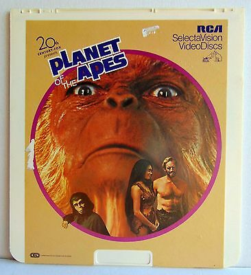 CED - Planet of the Apes - RCA  Videodisc