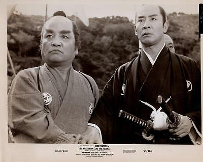 "Scene from ""The Barbarian and the Geisha"" 1958 Vintage Movie Still"