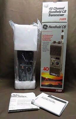 GE 40 Channel Portable Handheld CB Transceiver 3-5979 Never Used In Box NEW
