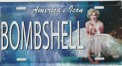 Marilyn Monroe new metal LICENSE PLATE - America's Icon in Some Like it Hot