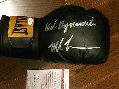 "Mike Tyson Autographed Everlast Boxing Glove -""Kid Dynamite"" JSA"