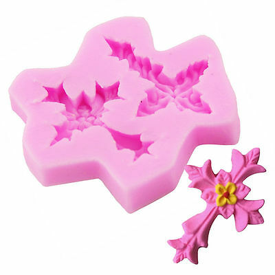 Cross Silicone Cake Mould Cupcake Fondant Tool Mold Christian God Christian Mary