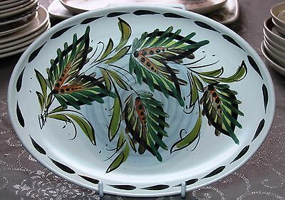 Bourne Denby Glyn Colledge Oval Plate Studio Art Pottery - Free Post