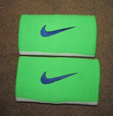 Nike Tennis Premier Dri-Fit Half and Half Doublewide Wristbands NWT!!!