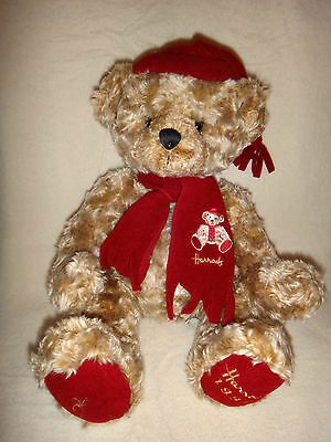 Collectible Large Harrods Foot Dated 1999 Teddy Bear Soft Toy Rrp £118