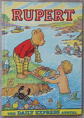 Rupert the Bear - The Daily Express Annual 1975