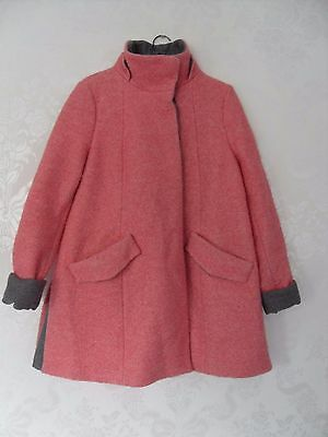 Asos Maternity size 10 Candy floss Pink Swing Coat