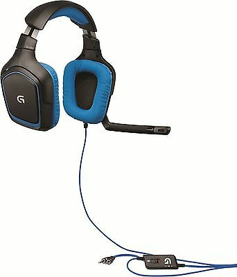 Logitech G430 Gaming Headset with 7.1 Dolby Surround for PC and PS4