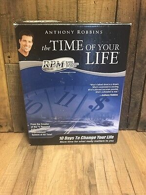 Tony Robbins Time Of Your Life RPM Rapid planning Method