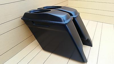 """Harley Davidson 6""""saddlebags And Lids Included For Touring Bagger 1995-2013"""