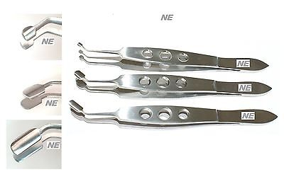 meibomian a arita gland expressor forceps 3 size small medium large paddle shape