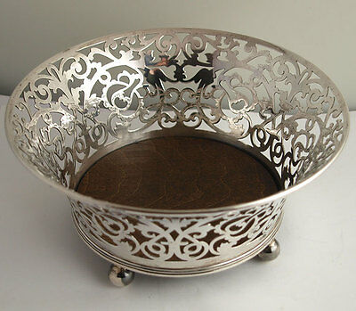 Superb George V Solid Silver Bowl - 331g - Sheff. 1911