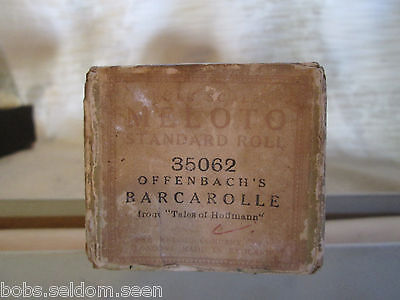 Meloto Player Piano Roll: Offenbach's Barcarolle  35062