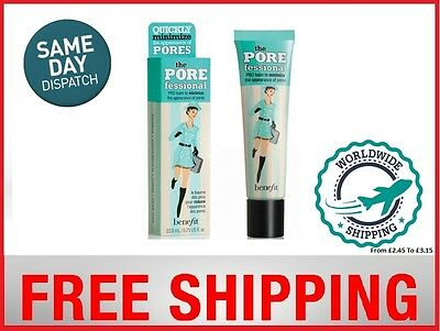 Benefit POREfessional face primer✔ Full Size 22ml✔UK SELLER✔Free P&P-1StClass✔