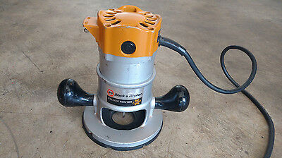 Black & Decker Deluxe Router 7616 Made in USA W/ Bit
