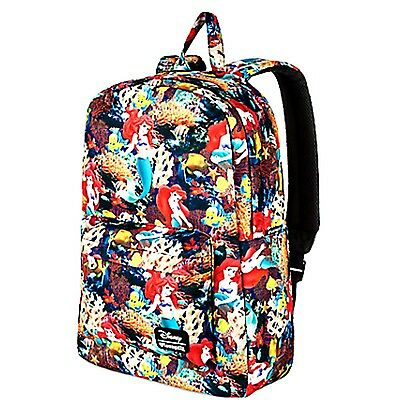 New Disney Parks Store Loungefly X Princess Ariel Little Mermaid Backpack, Purse