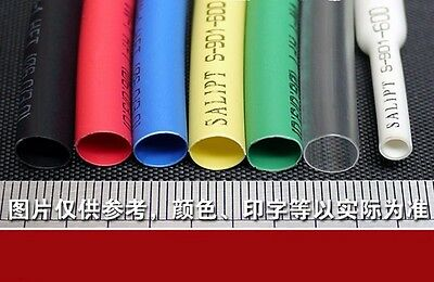 2:1 Blue Insulated RC Model Heat Shrink Tube Pipe 7mm 20m