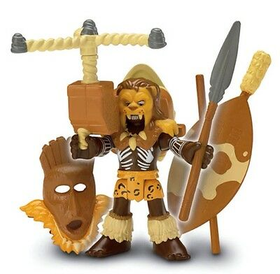 Fisher Price Imaginext Battle Arena TIGER THE HUNTER figure NEW - Discontinued
