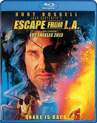 Escape From L.A. (Blu-ray Disc, 2013, 2-Disc Set) LA NEW SEALED Kurt Russell R1