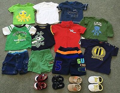 Baby Boy Summer Clothing Lot (3-9 months)